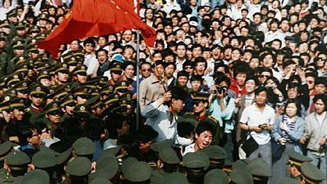 Kommunistiska protester 1989